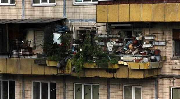 Участились проверки балконов многоквартирных домов. Не всё, что мы там храним – законно
