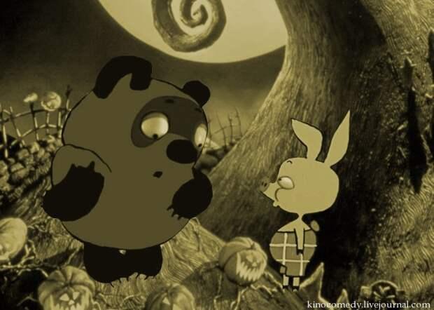 Если бы Тим Бёртон переснял советские мультфильмы…