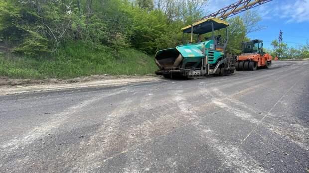 На автодорогах южного берега Крыма идут масштабные ремонтные работы