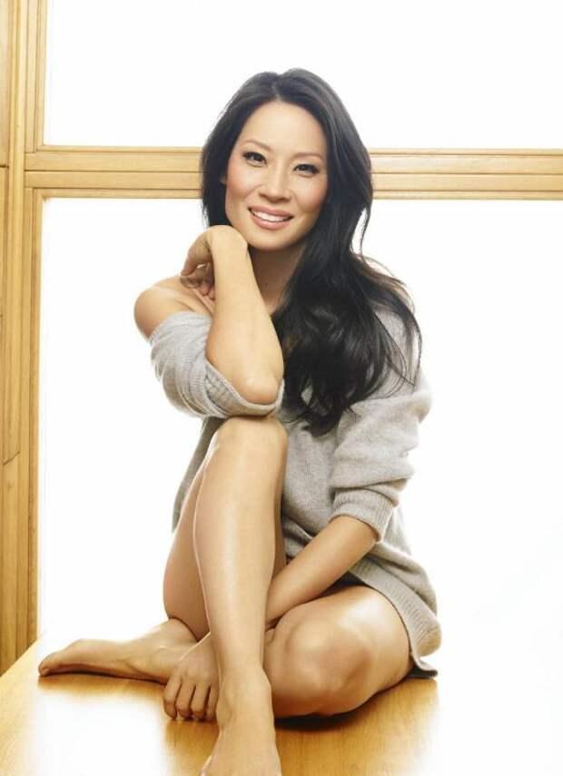 Красотка китаянка Люси Лью.