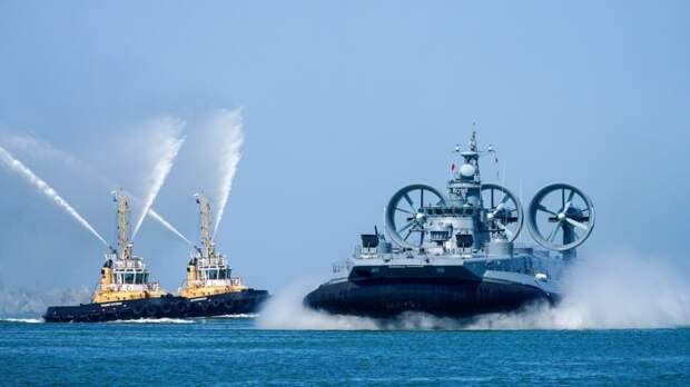 ВМФ России получит водные десантные корабли