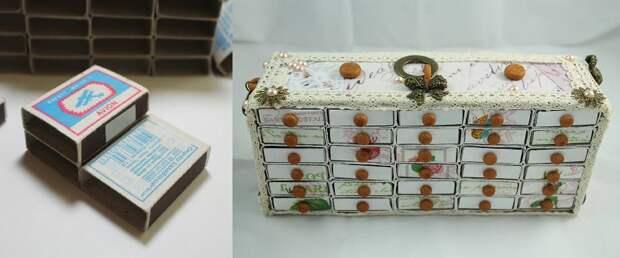хранение семян в спичечных коробках