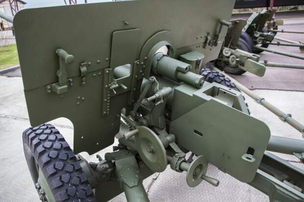 Рассказы об оружии. 57-мм противотанковая пушка ЗиС-2 57-мм противотанковая пушка ЗиС-2, рассказы об оружии, страницы истории