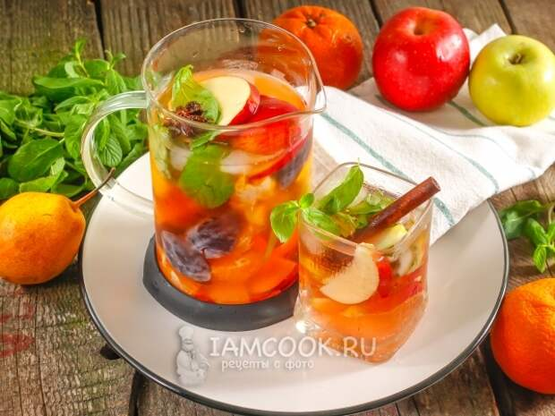 Фруктовая Сангрия — рецепт с фото пошагово