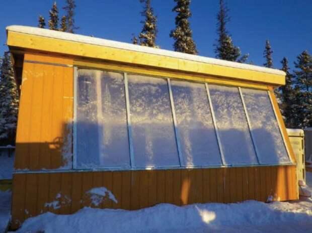 Как построить зимнюю теплицу своими руками - 5 интересных идей