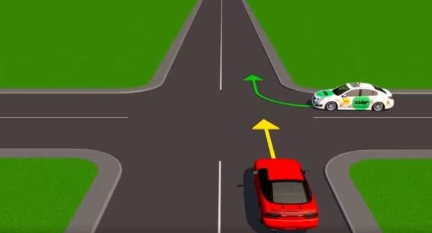 Изучаем ПДД. Во время поворота налево, действует ли правило «помехи справа»?