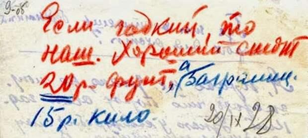 Пометки Брежнева./Фото: cdn.fishki.net