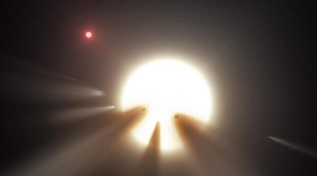 Самая странная звезда в Галактике. Она пульсирует и наука это не может объяснить