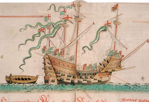 Археологи изучили останки моряков, погибших на«Мэри Роуз» в1545 году