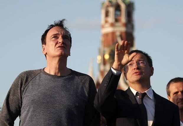 Квентин Тарантино посетил Москву