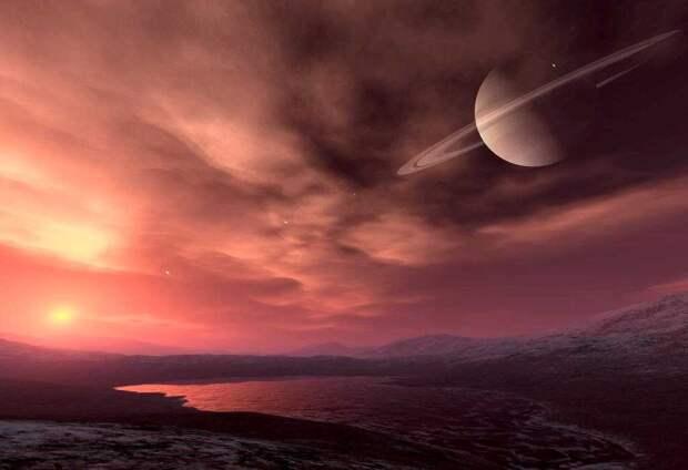 В атмосфере Титана обнаружены предсказанные «кирпичики чужой жизни»