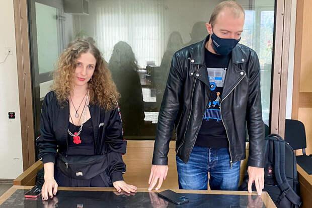 Участницу Pussy Riot приговорили к году ограничения свободы