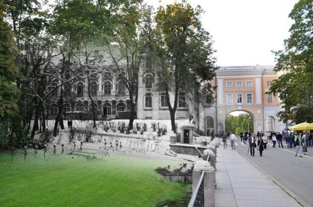 Пушкин 1943-2011 Садовая улица. Немецкое военное кладбище в Екатерининском парке блокада, ленинград, победа