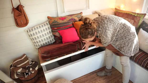 диван с ящиком для хранения