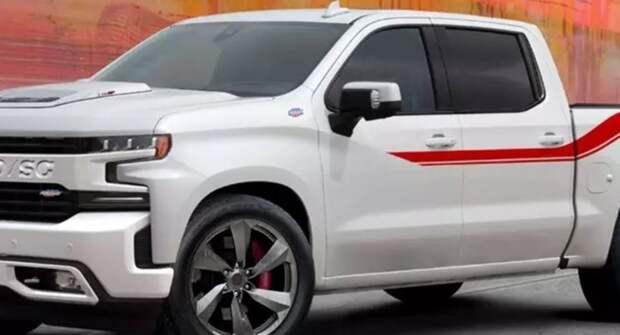 Пикапу Chevrolet Silverado подняли мощность до 710 лошадиных сил