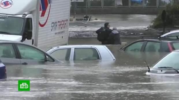 На Сицилии подсчитывают ущерб от урагана