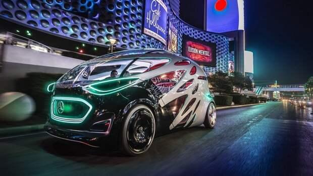 Mercedes Vision Urbanetic Concept