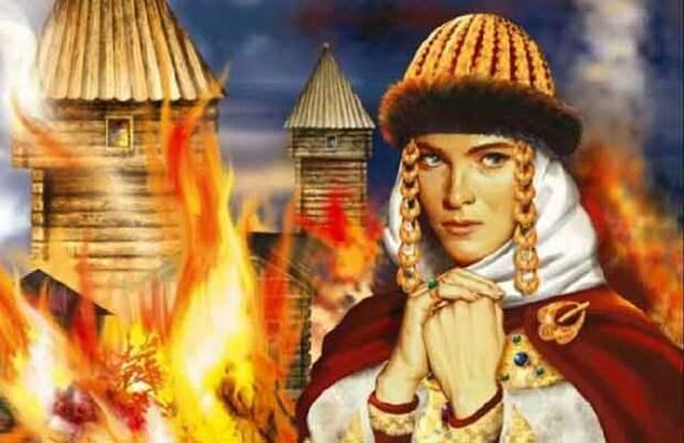 Месть Ольги: что сделала княгиня с древлянами за убийство мужа