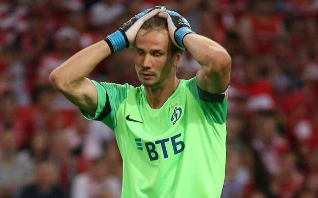 «Динамо» назвало причину отсутствия Шунина в матче с «Локомотивом»