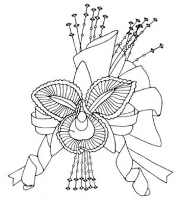 Как украсить шляпку вязаными цветами и укрепить её поля