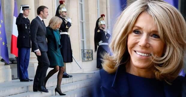Стиль Брижит Макрон: Первая леди Франции полностью изменила свой скандальный облик