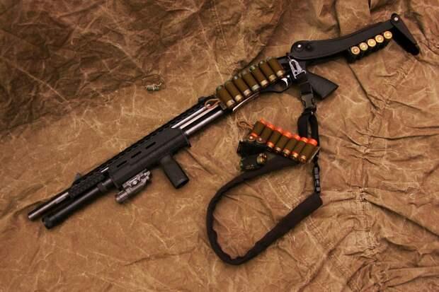 МР-133 – помповое ружье ижевских оружейников