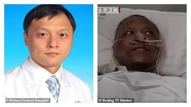 После лечения от коронавируса медики из Уханя стали темнокожими