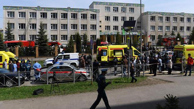 Число погибших в результате стрельбы в казанской школе достигло 13