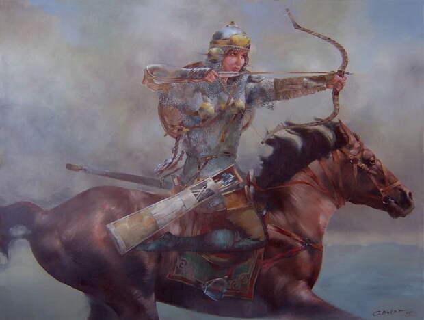 Тюркские амазонки