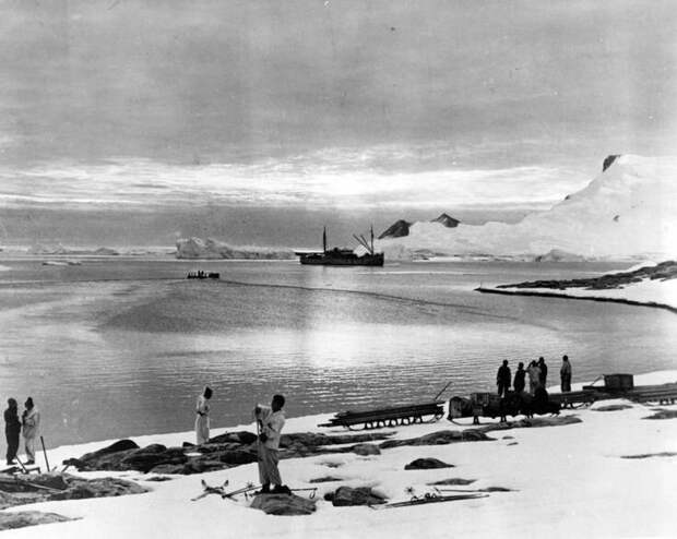 Американская экспедиция Ричарда Берда в Антарктиде