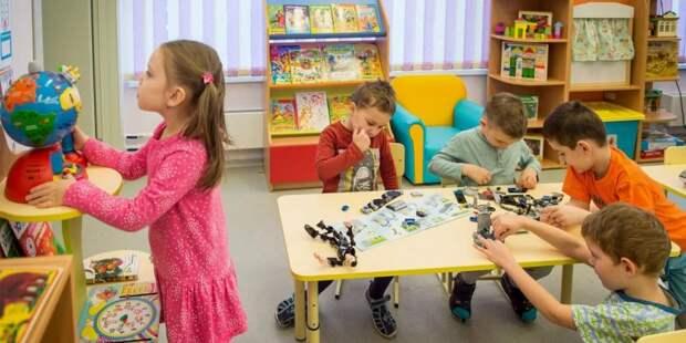 Собянин: За несколько лет в Москве построено более 300 детских садов