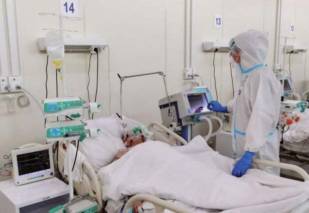 В Петербурге дополнительно развернут 459 коек для пациентов с COVID-19