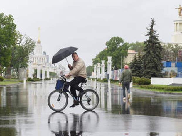 В Москве ожидается 68% месячной нормы осадков, возможен снег