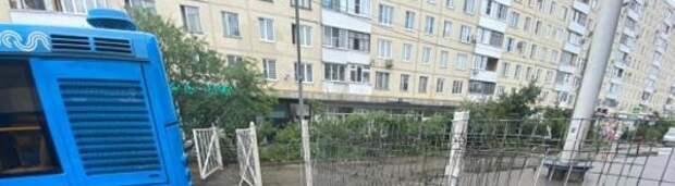 Опасное ограждение возле ТПУ «Планерная» демонтировали