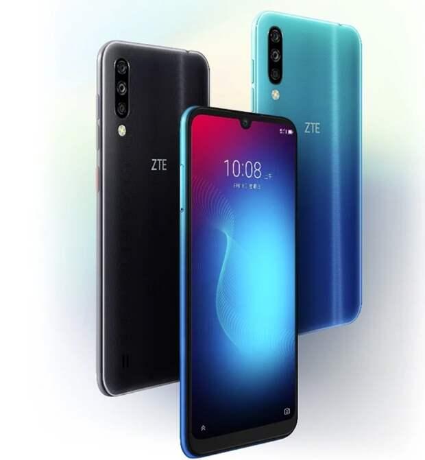 Недорогой смартфон ZTE Blade A7s оснащён тройной камерой и 64 Гбайт памяти