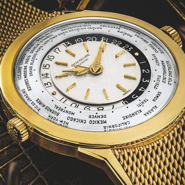 Часы поставили 10 мировых рекордов на аукционе Christie's