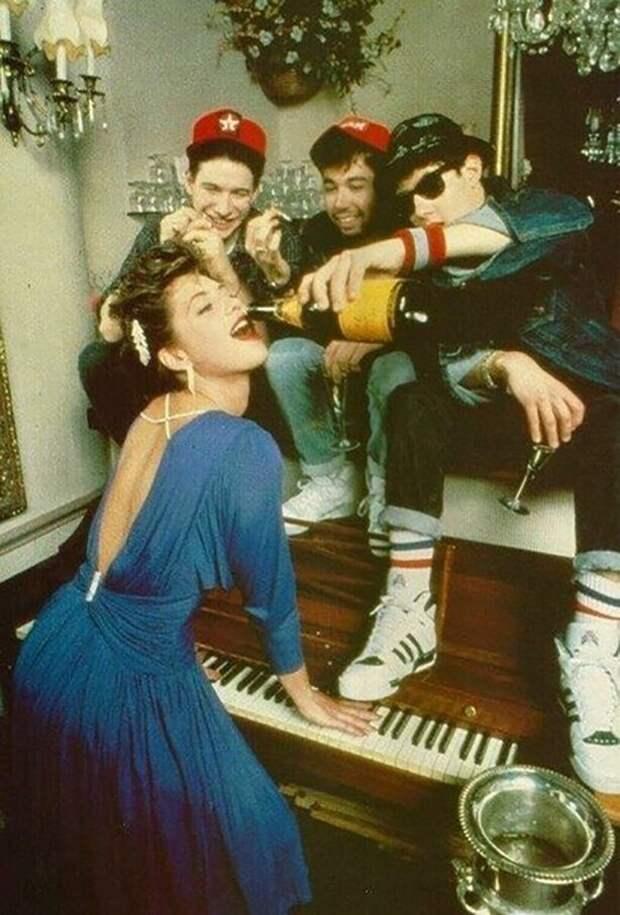 Мaдонна и Beastie Boys, 1985 год