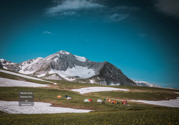 Палаточный лагерь под Оштеном