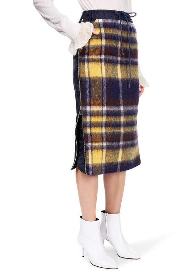 зимняя теплая юбка идеи что сшить