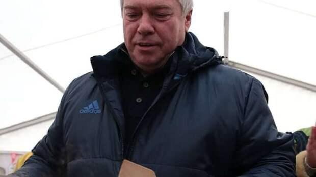 Освоем отдыхе рассказал губернатор Ростовской области