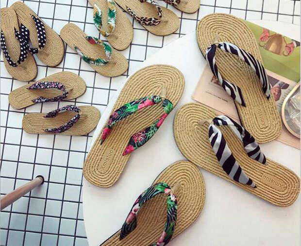 Декор шлепок и сандалей своими руками. 25 разных идей!