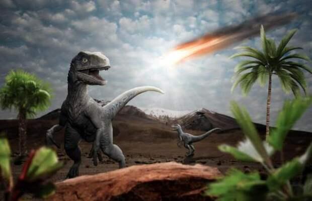 Падение астероида и динозавры.