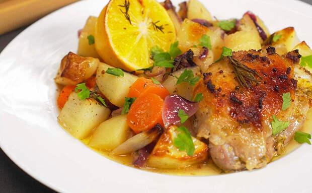 Готовим мясо по-французски из курицы: получается сочно, но гораздо экономнее