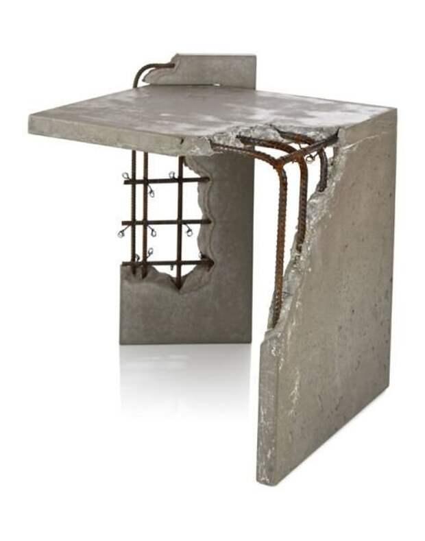И даже бетонные Фабрика идей, дизайнеры, идеи, интересное, необычное, табуреты
