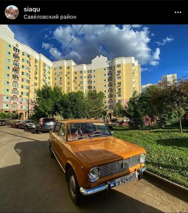 Фото дня: оживленная «копейка» в Савеловском