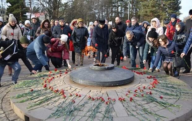 В Подмосковье почтили память героев войны