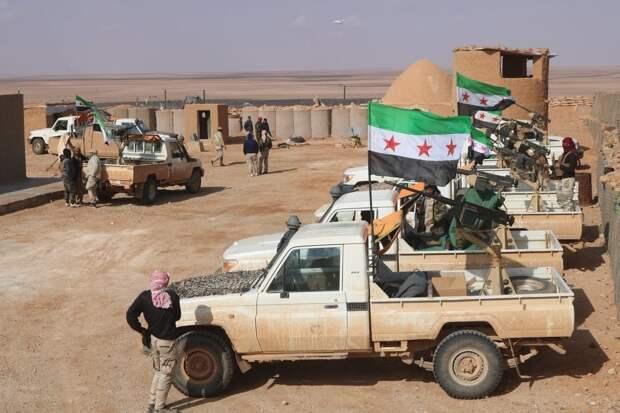 Военные ВС РФ и САР при участии турецких офицеров провели переговоры с курдами