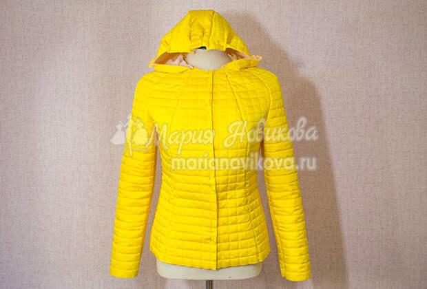 Примерки куртки на синтепоне