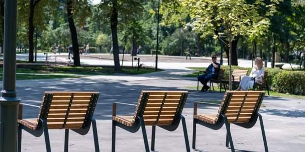 Собянин подвел итоги программы благоустройства Москвы в 2021 году. Фото: В. Новиков mos.ru