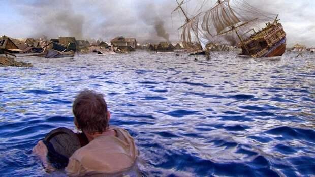 Как затонул пиратский город